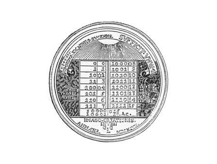 Leibniz Medal Medallion